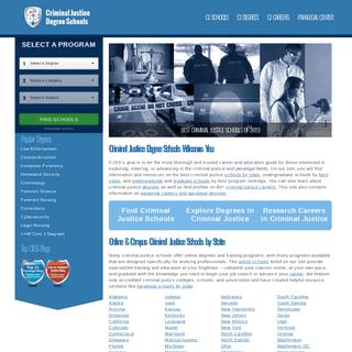 ArchiveBay.com - criminaljusticedegreeschools.com - Criminal Justice Schools of 2019