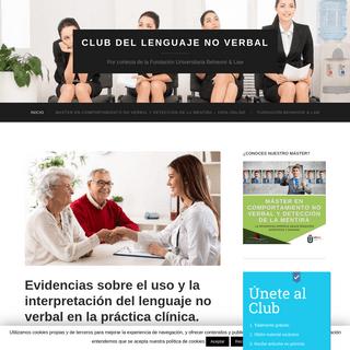 ArchiveBay.com - clublenguajenoverbal.com - Club Lenguaje No Verbal