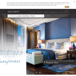 Luxury Hotels & Resorts - DISCOVERY Loyalty - GHA Loyalty Program