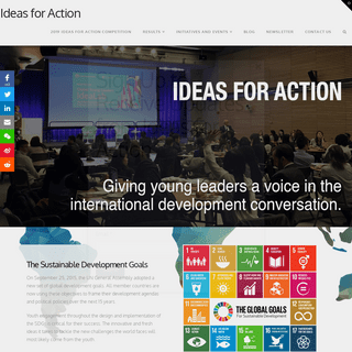 Ideas for Action - Financing the Future of Development