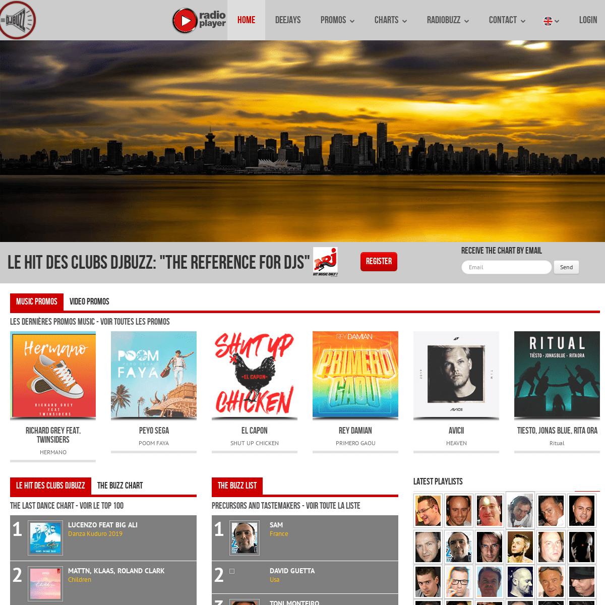 DJBuzz - Official website