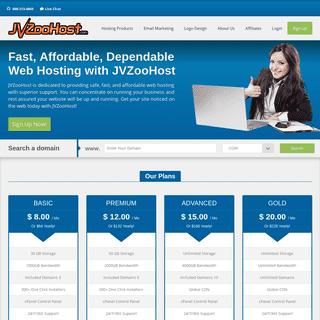 ArchiveBay.com - jvzoohost.com - JVZooHost Affordable Reliable Web Hosting