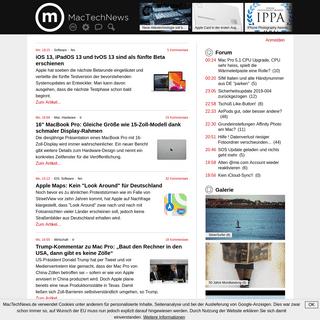 Apple-News rund um Mac, iPhone und iPad - MacTechNews.de