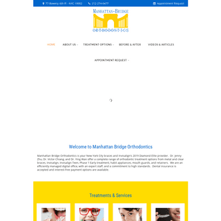 Manhattan Bridge Orthodontics Invisalign 2019 Diamond Provider & Braces NYC