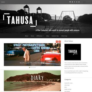 Tahusa - A Hong Kong Analog Film Enthusiast