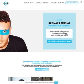 ArchiveBay.com - maxcf.es - 🎨 Diseñador Web Freelance WordPress- Max Camuñas