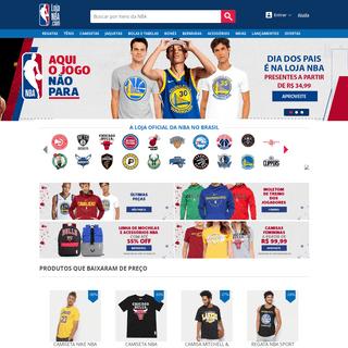 Loja Oficial da NBA - Tênis, roupas, acessórios e mais.