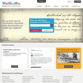 ArchiveBay.com - wiewaswie.nl - WieWasWie