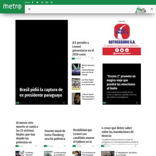 ArchiveBay.com - metrord.do - Noticias, Deportes y entretención de República Dominicana y el Mundo - Metro República Dominicana