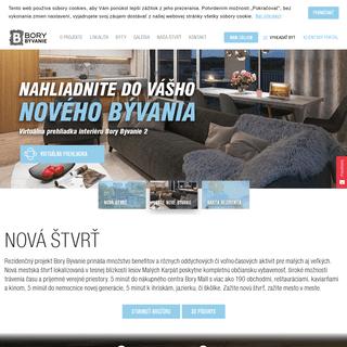 ArchiveBay.com - borybyvanie.sk - Nové byty v novej štvrti - Bory Bývanie