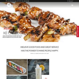 Ke Charcoal Grill & Sushi Beltline Calgary
