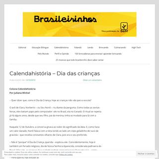 A complete backup of brasileirinhos.wordpress.com