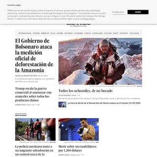 EL PAÍS Edición América- el periódico global