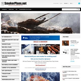 ArchiveBay.com - smokerplans.net - Smoker Plans, Build a Smoker