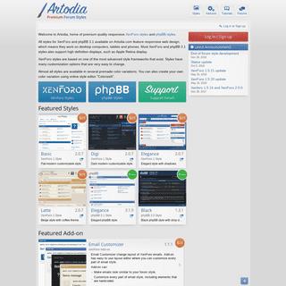 Artodia - Creative Studio - phpBB styles, XenForo styles