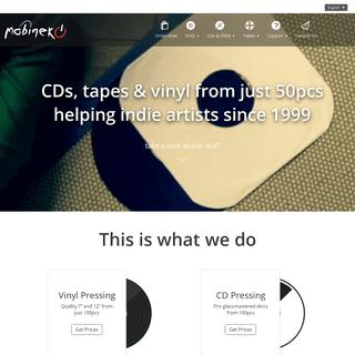 Mobineko Short Run Vinyl, CD Pressing and Cassette Tape Duplication