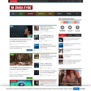 Hello Friki - Tu portal de cine, series, videojuegos, literatura y cómics