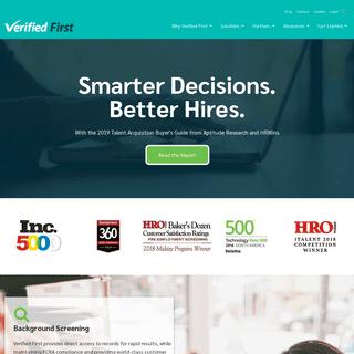 Home - Verified First