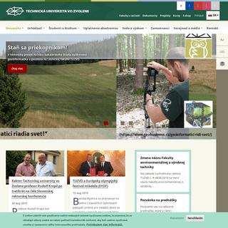 ArchiveBay.com - tuzvo.sk - Technická univerzita vo Zvolene - Technická univerzita Zvolen