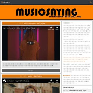 Musicsaying - Translations fulfill Emotions