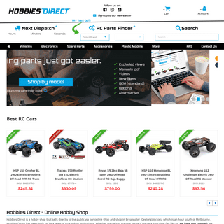 Hobby Shop - All In One Place at Your Favourite RC Hobby Shop