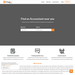 Find an Accountant near you - UK Local Accountants - Chekin