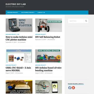 Electric Diy Lab - Electronics DIY projects, Tutorial