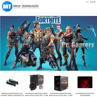 ArchiveBay.com - mgtecnologia.com.ar - Inicio - Mega Tecnología