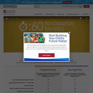 College Savings Plans - College Tuition Funding - Florida Prepaid