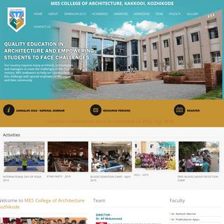 MES College of Architecture, Kakkodi, Kozhikode