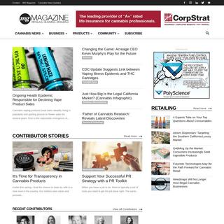 Cannabis News Magazine and Digital Platform