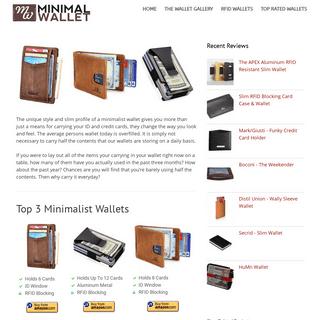 ArchiveBay.com - minimalwallet.net - Minimal Wallet - Minimalist Wallet Reviews