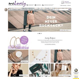 ❤ Schmuck & Uhren Designer Online Shop - melovely