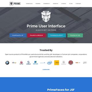 PrimeFaces - Ultimate UI Framework for Java EE