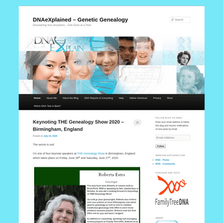 ArchiveBay.com - dna-explained.com - DNAeXplained – Genetic Genealogy - Discovering Your Ancestors – One Gene at a Time