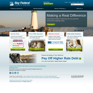 Bay Federal Credit Union - Making a Real Difference