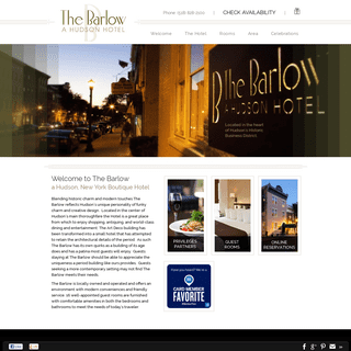 Hudson, New York Boutique Hotel - The Barlow
