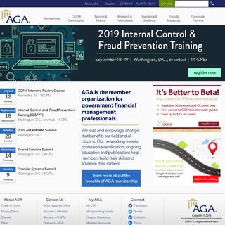 AGA - Association of Government Accountants