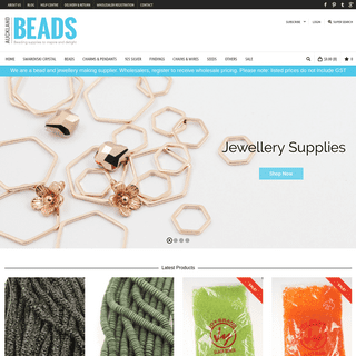 ArchiveBay.com - aucklandbeads.com - Auckland Beads NZ - Beads And Jewellery Supplies Wholesale
