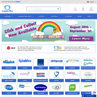 NappiesRus - UK and Europe's ABDL Diaper Superstore