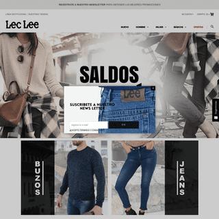 Compra en Nuestra Tienda Online. Lec Lee, Chaquetas, Jeans, Camisas y Pantalones