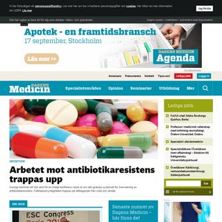 Dagens Medicin – Ledande nyhetsbevakare av sjukvården