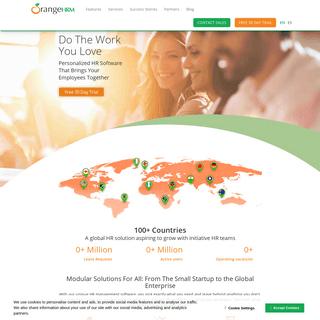 HR Management System - HR Management Software - OrangeHRM
