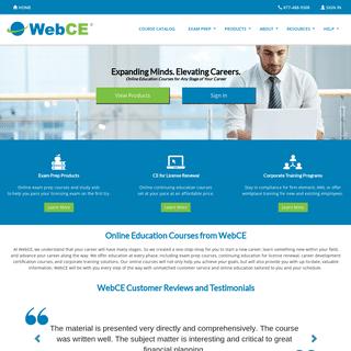 Continuing Education - CE & CPE - Training - WebCE