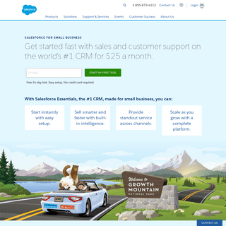 Salesforce Essentials is the Best CRM for Small Businesses - Salesforce.com