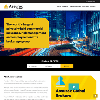Assurex Global- Independent Insurance Agents and Brokers