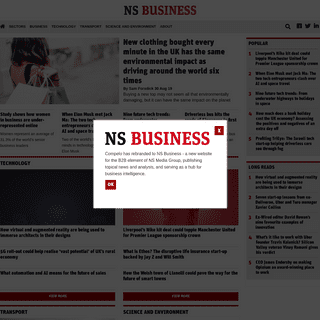 Home Page - NS Business