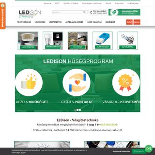 Ledison Világítástechnikai Szaküzlet és Webáruház
