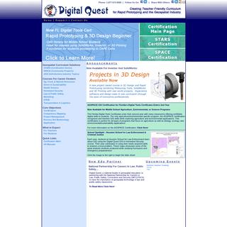 Digital Quest, Inc. - Rapid Prototyping & Geospatial Training