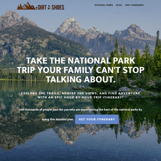 Dirt In My Shoes ⋆ Hiking Through the National Parks